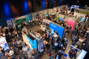 Exhibitors at the Online-Karrieretag in Munich
