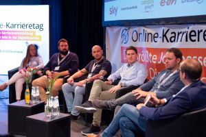 Panel at the Online Career Day Munich