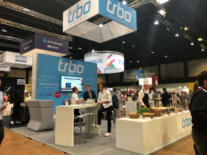 trbo booth at the K5 2019