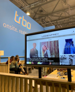 trbo logo and customer video dmexco 2019