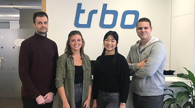 trbo welcomes the new year with four new employees