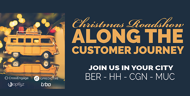 """This was our Christmas Roadshow """"Along the Customer Journey"""""""