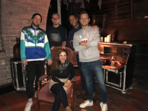 Escape Room - Esther, Jonas B., Jonas K., Manuel and Sebastian
