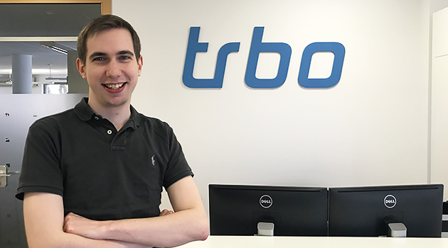 Further reinforcement: Julius Woelki starts at trbo as a Junior Sales Manager