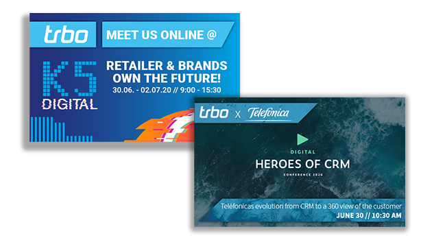 Too good to miss: trbo goes K5 Digital & Digital Heroes of CRM