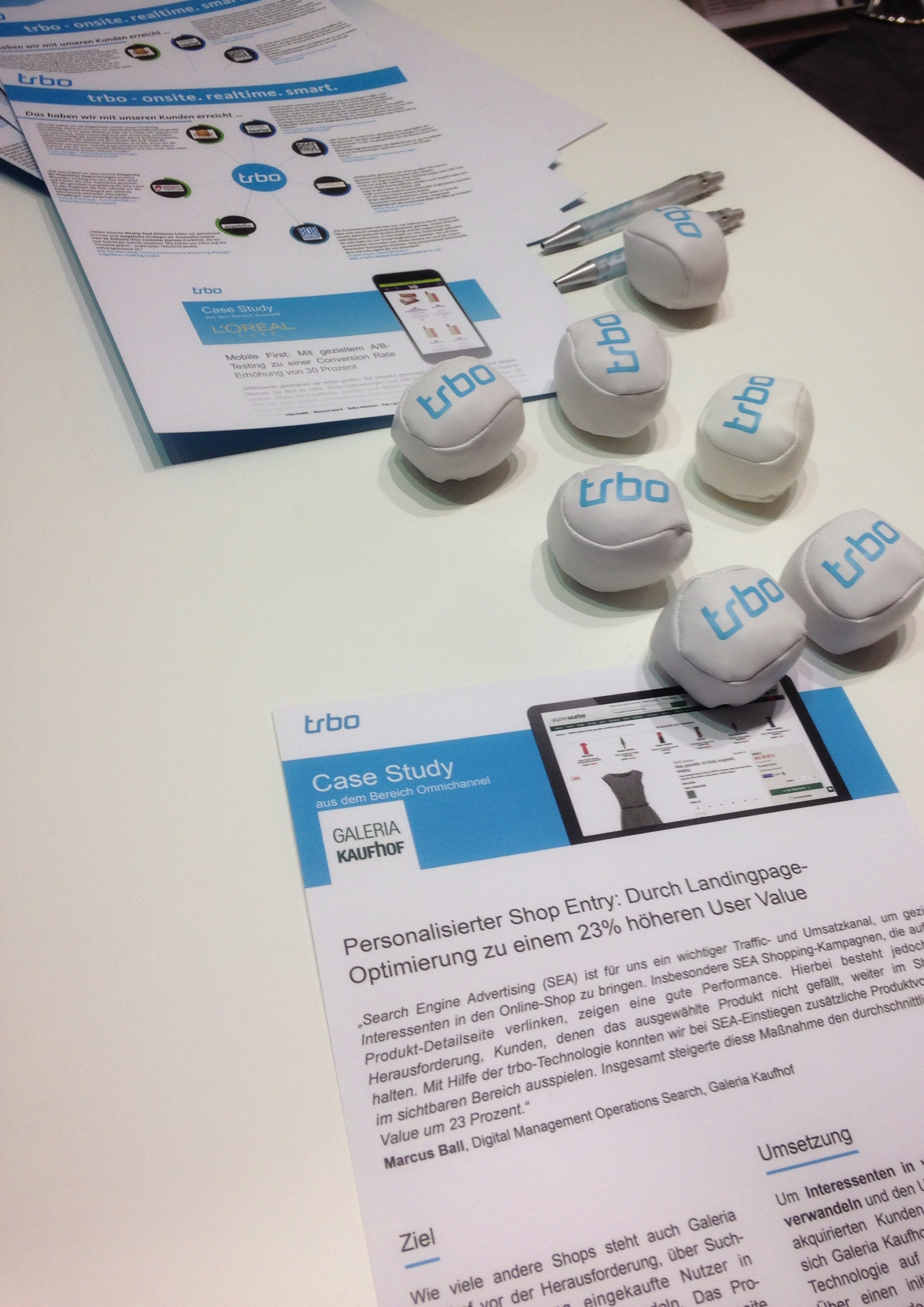 trbo Case Studies und Give Aways