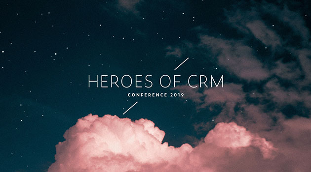 Wir sind dabei: Heroes of CRM Conference 2019