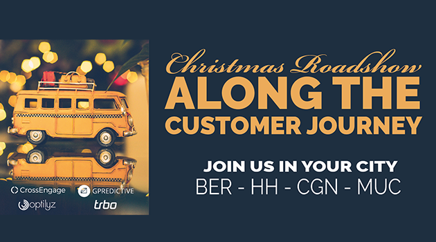 "Das war die Christmas Roadshow ""Along the Customer Journey"""